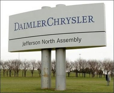 Damiler Chrysler Plant in Detroit