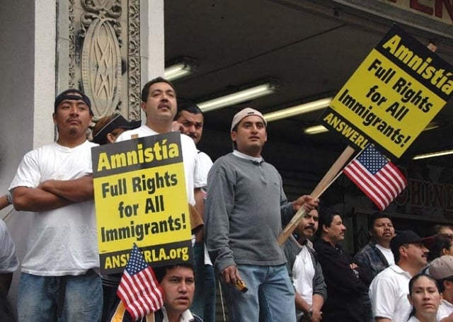 Immigrant Rally