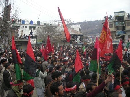 Big protest on January 3rd in Rawalakot