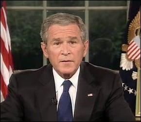 Bush speech on the economic crisis