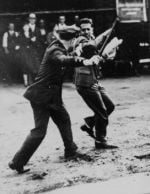 Police attack Teamsters