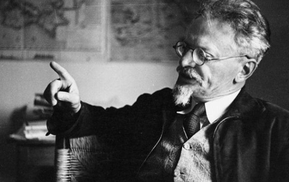 Trotsky in 1938