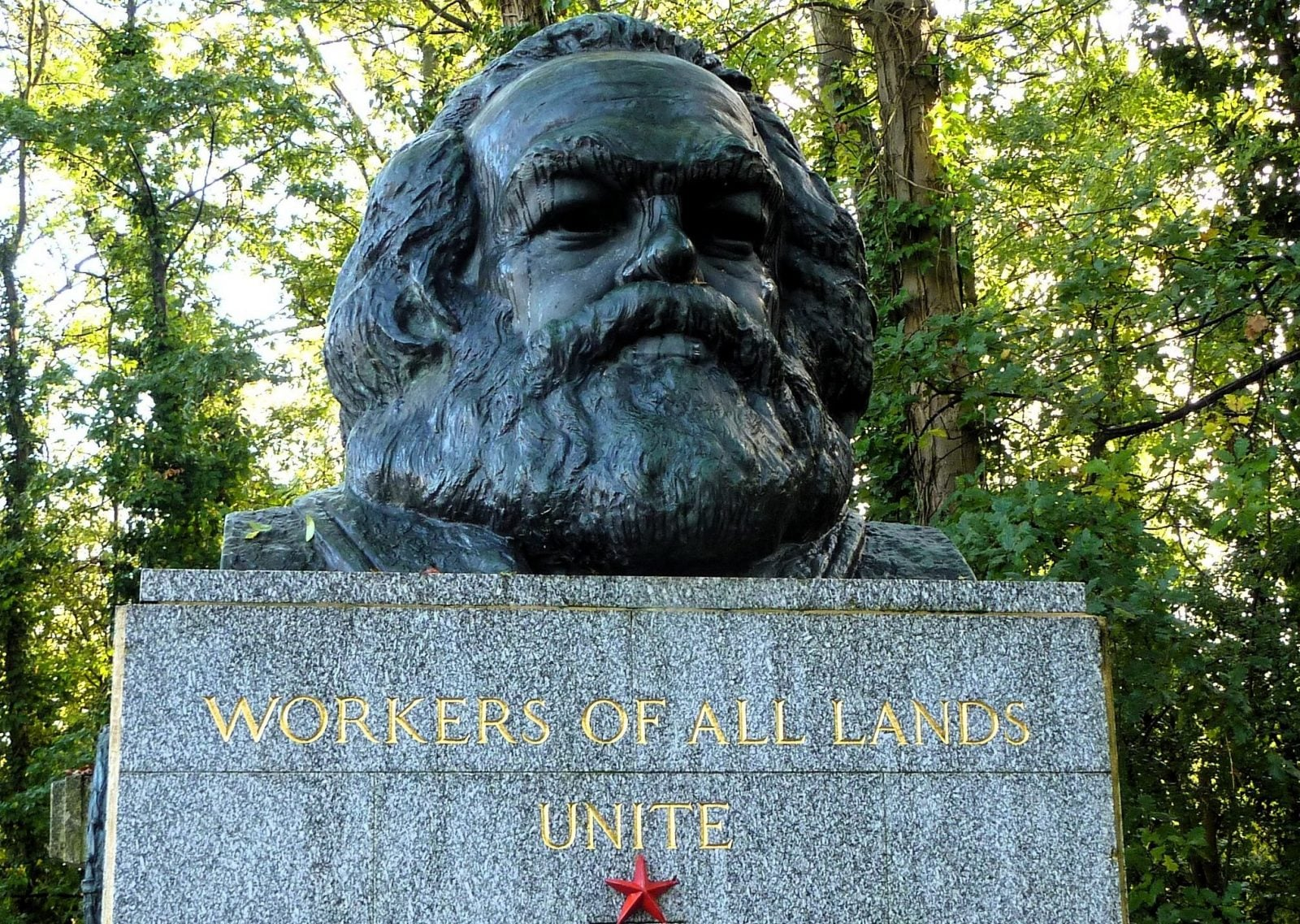 Workers of all lands unite Karl Marx