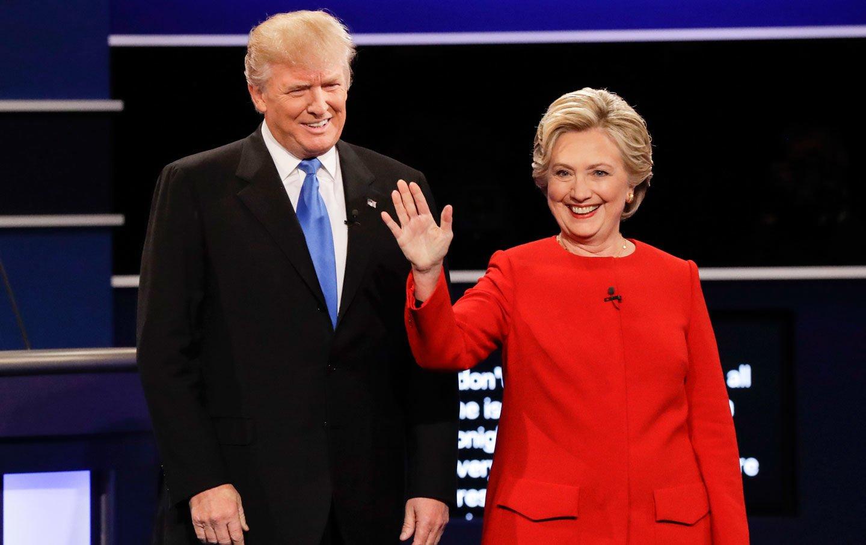 Image result for trump clinton armageddon