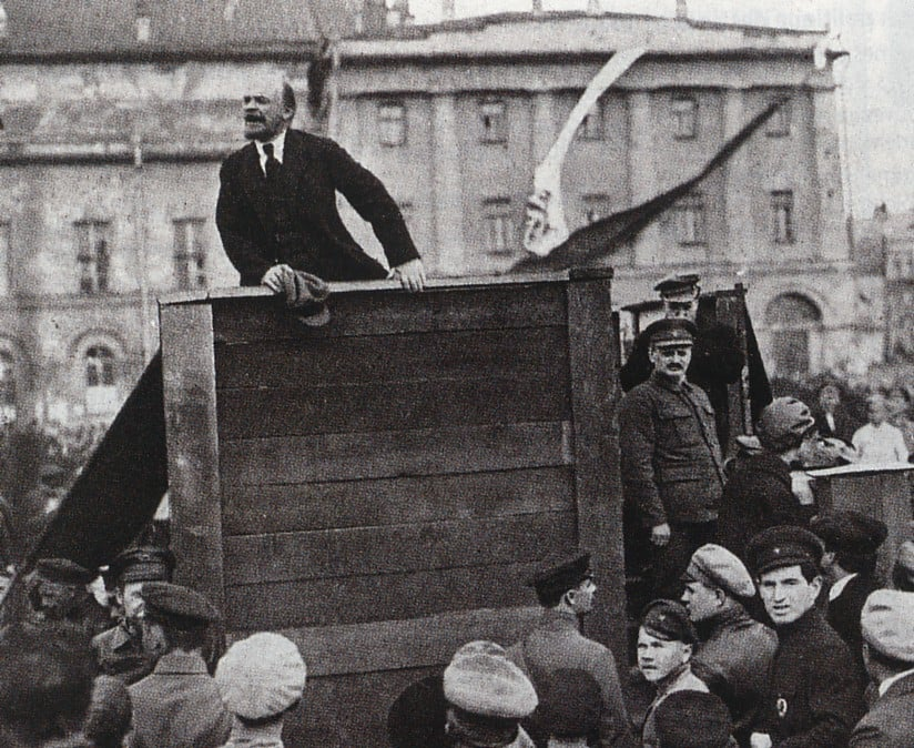 lenin trotsky speech