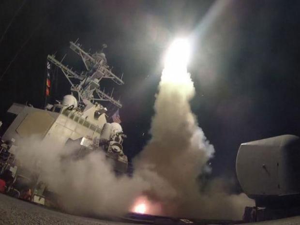 missile strike syria