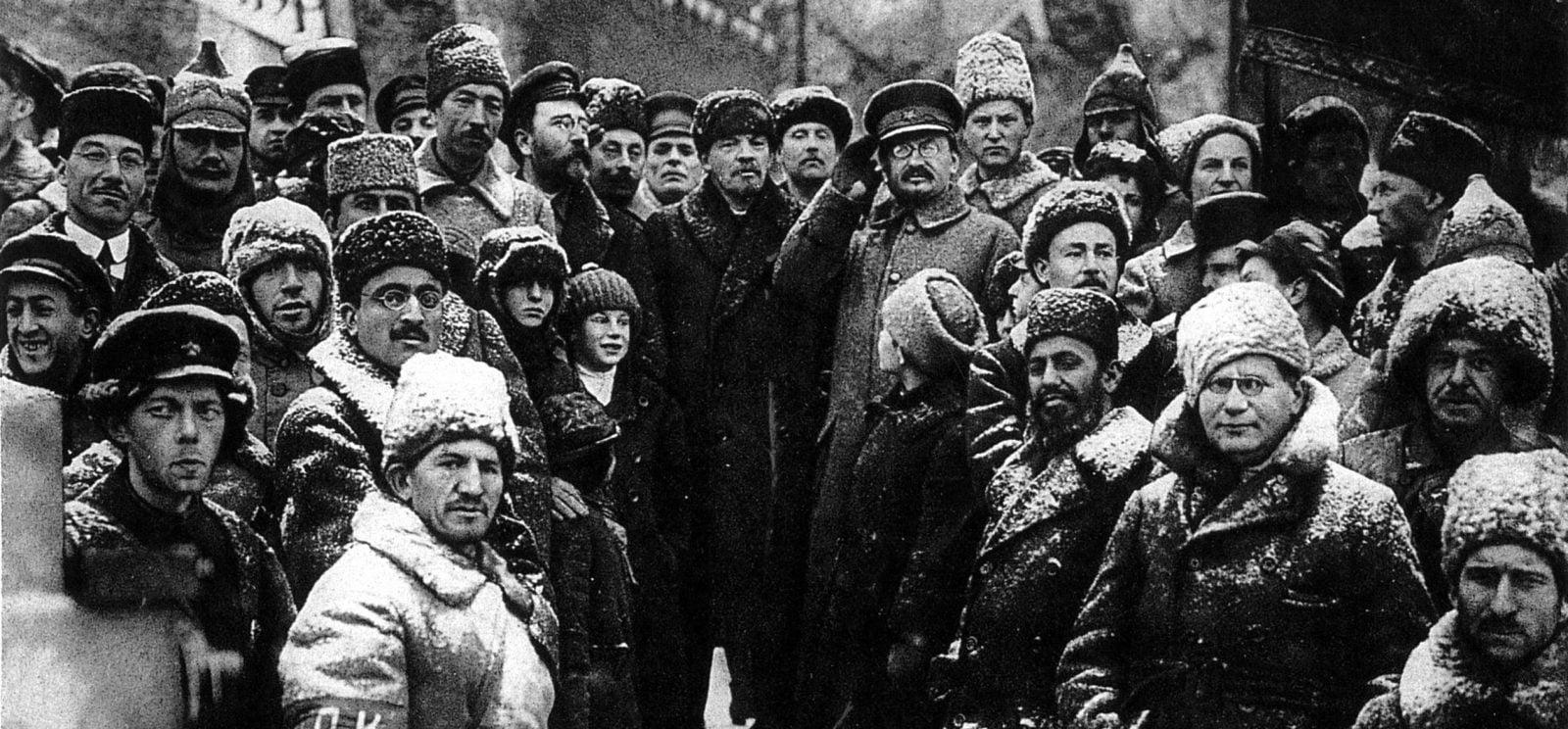 Lenin Trotsky Bolshevik Russian Revolution