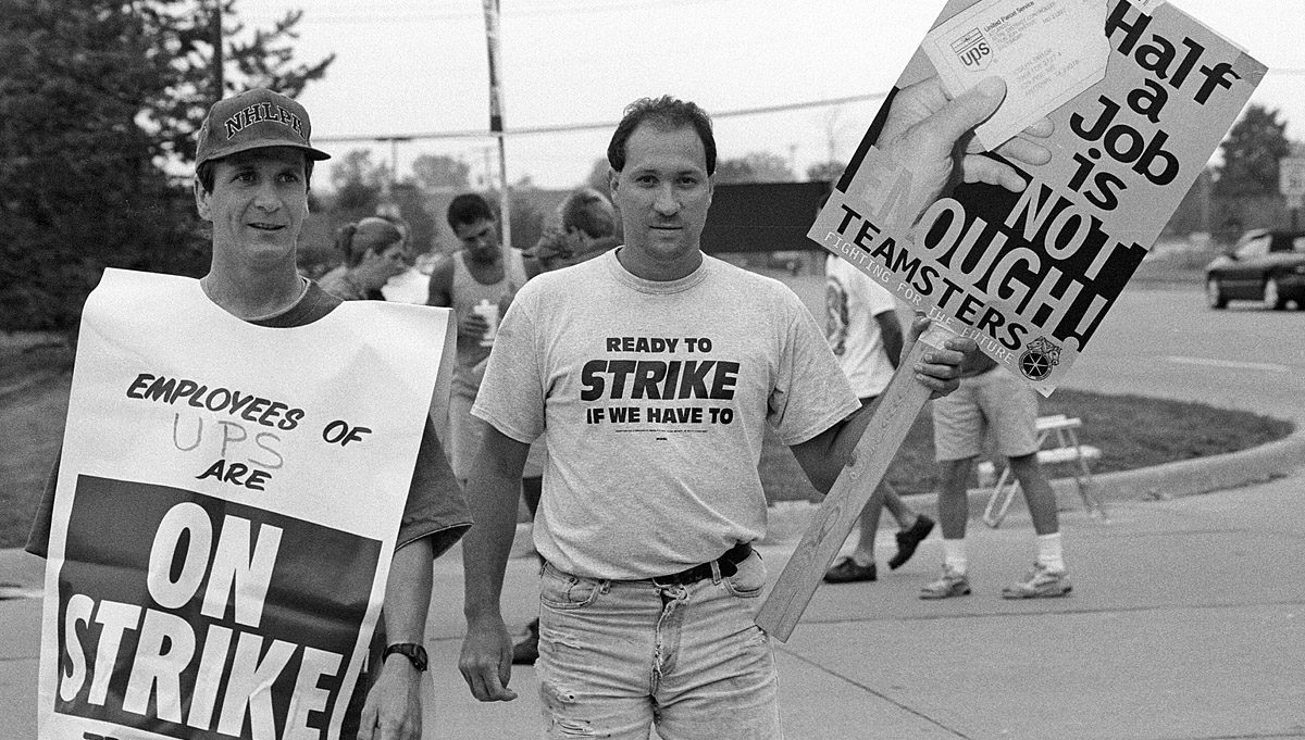 Teamster Strike UPS 1997