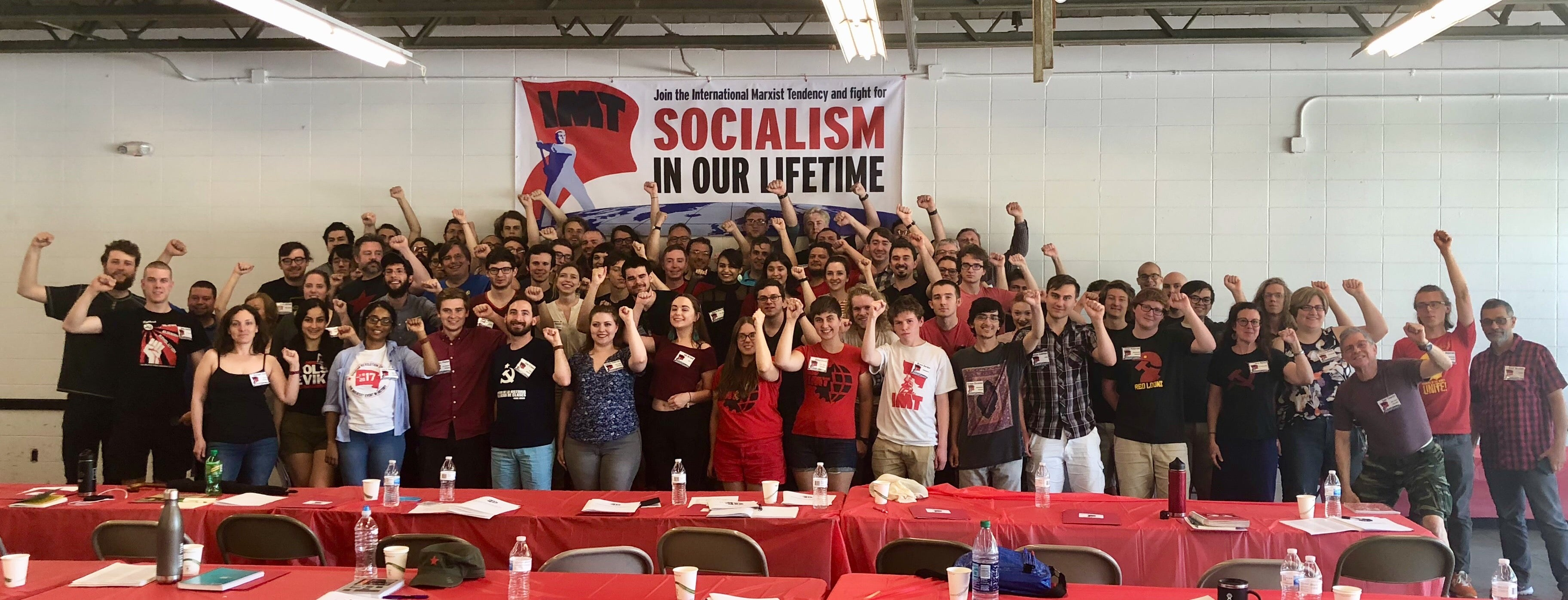 Socialist Revolution Congress Attendees
