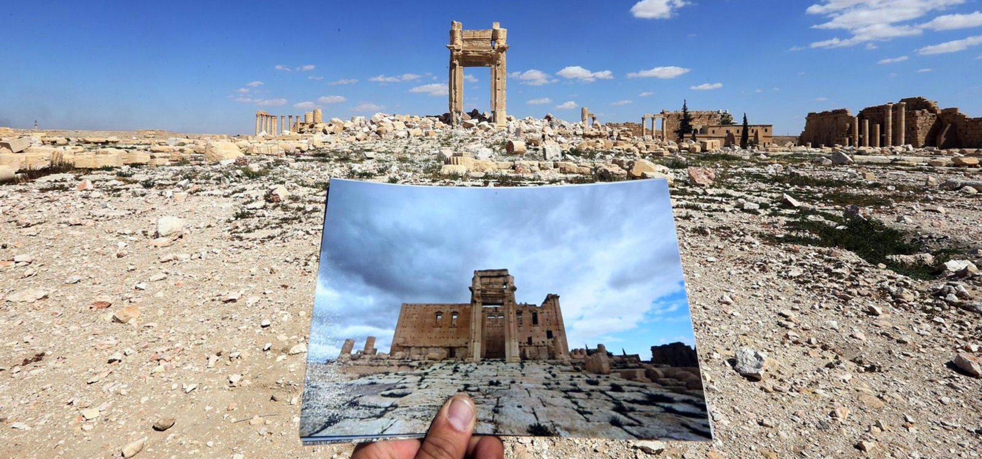 Palmyra Destroyed