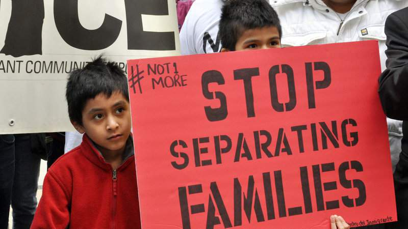 Stop separating families ICE