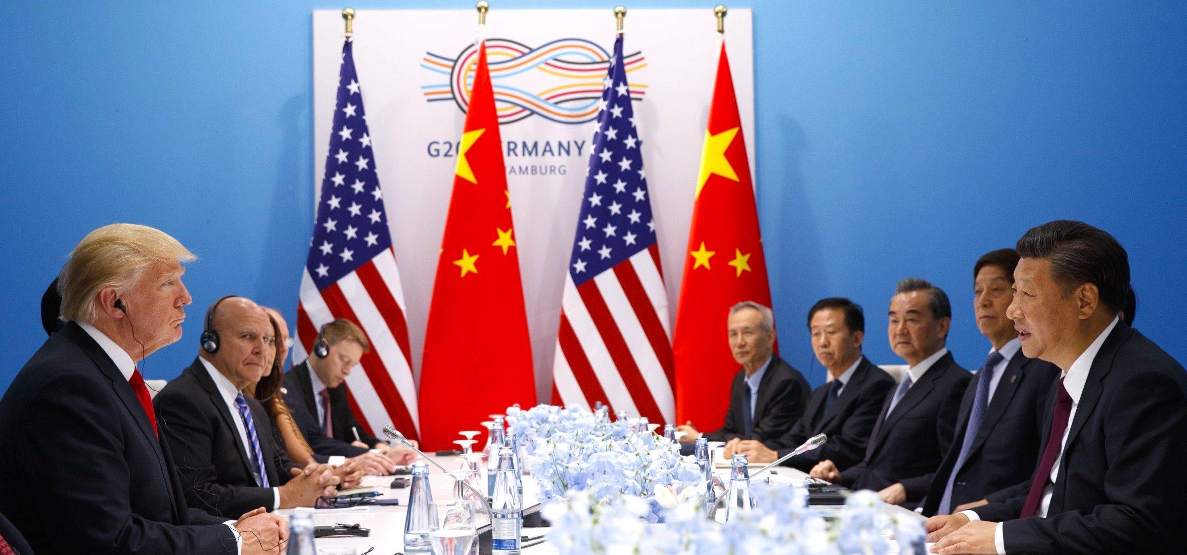 Trump meets Xi Jinping