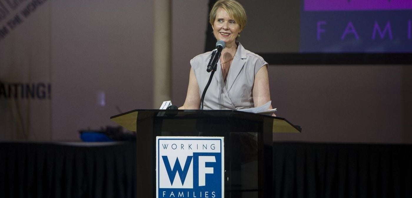 Cynthia Nixon Working Families Party Endorsement
