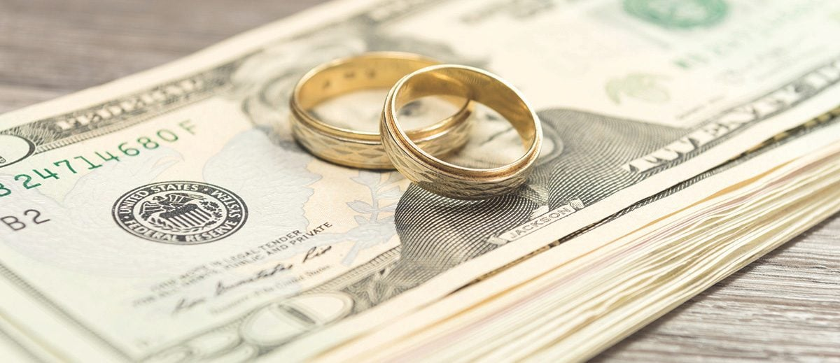 Marriage Rings and Money