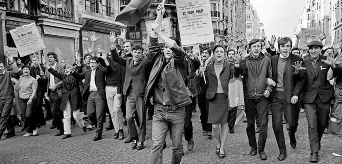 May 1968 Protests France Jacek E. Giedrojc Gallery