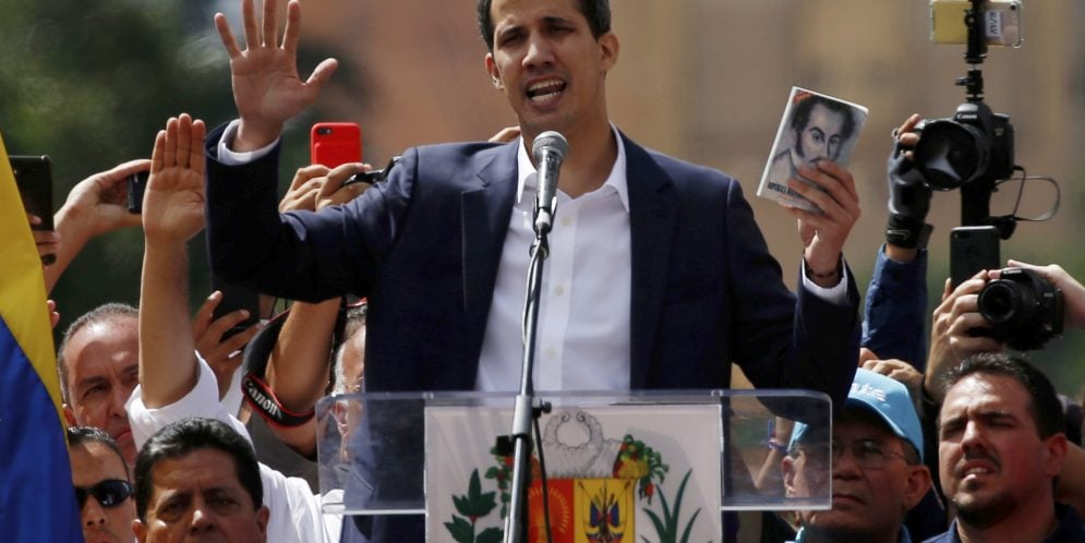 Venezuela Guaido Coup