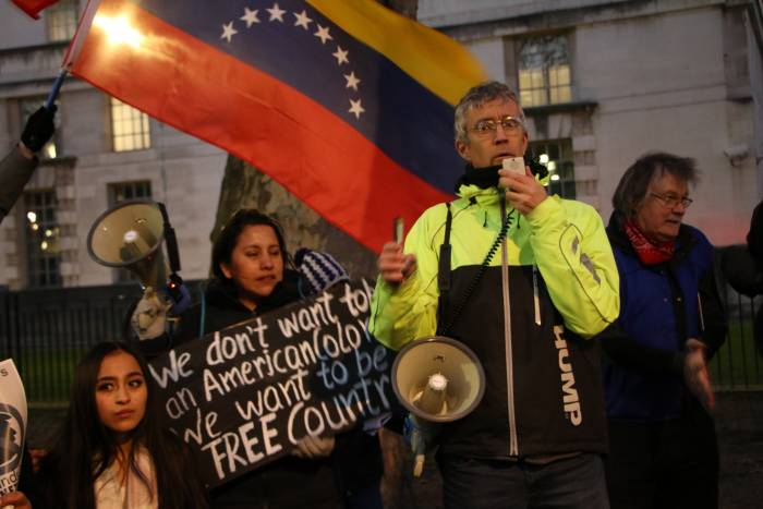 Jorge Martin Venezuela Solidarity Rally Socialist Appeal