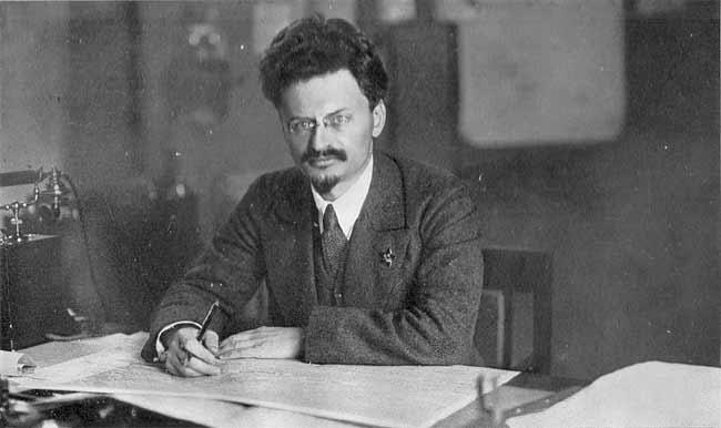 Leon Trotsky Public Domain