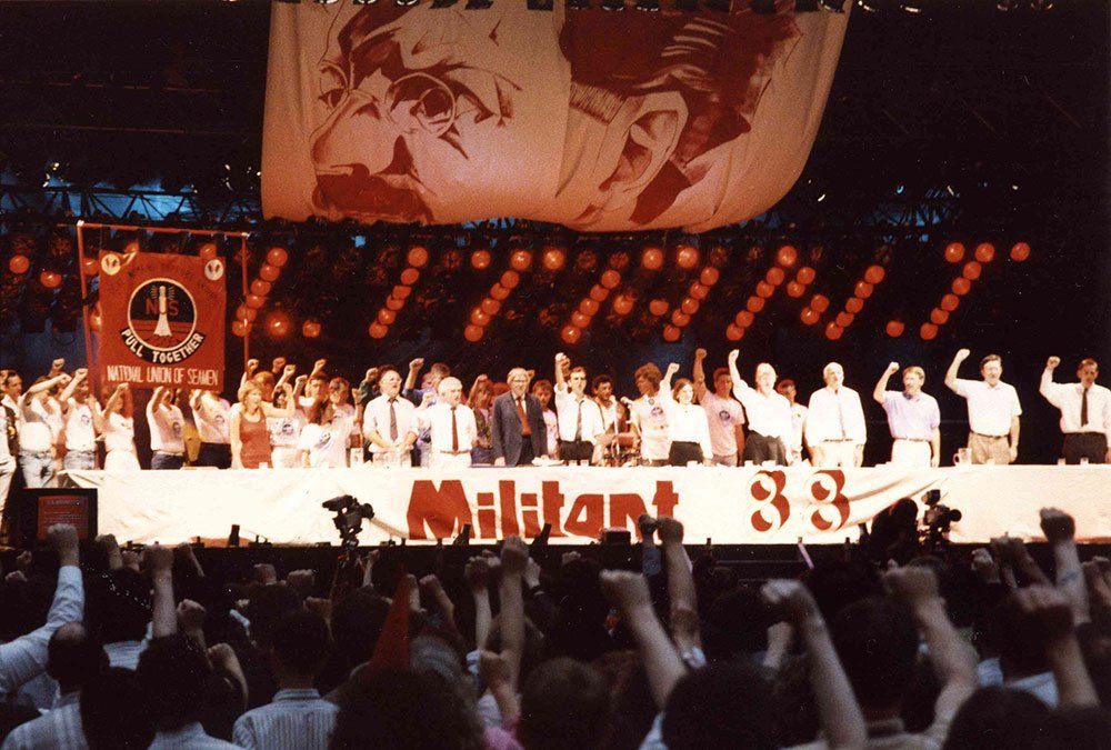 Militant Conference in 1988 London