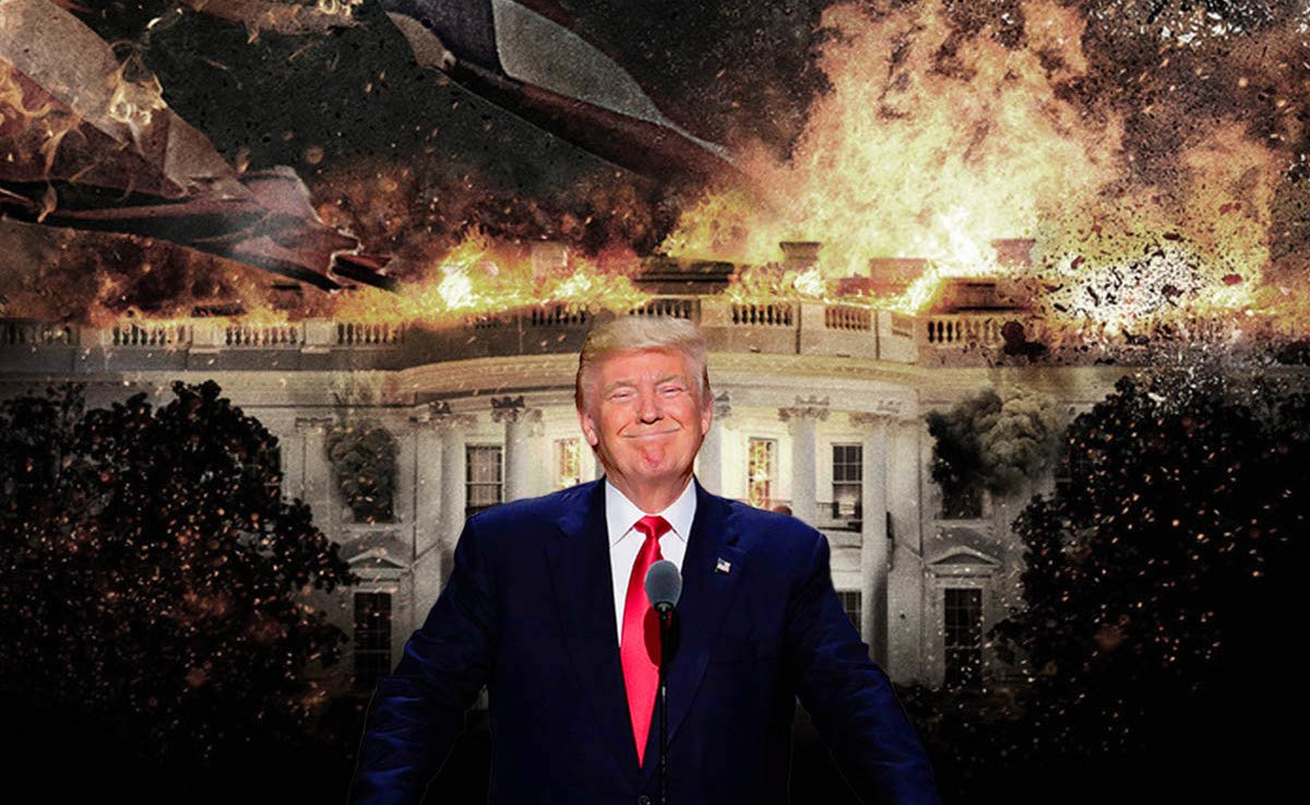 Trump Instability White House Explosion