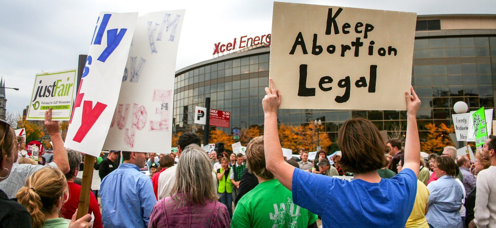 Keep abortion legal abortion right's protest
