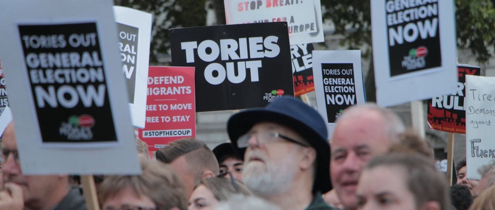 Britain protest against Boris—Tories Out
