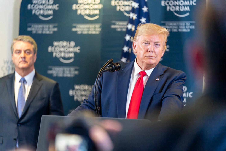 Trump at Davos 2020