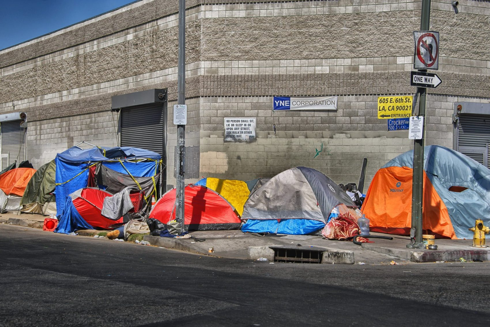 Los Angeles Homeless Tents