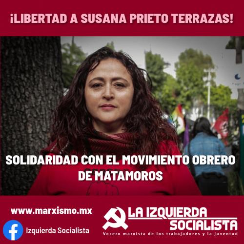 Libertad a Susana prieto Terrazas