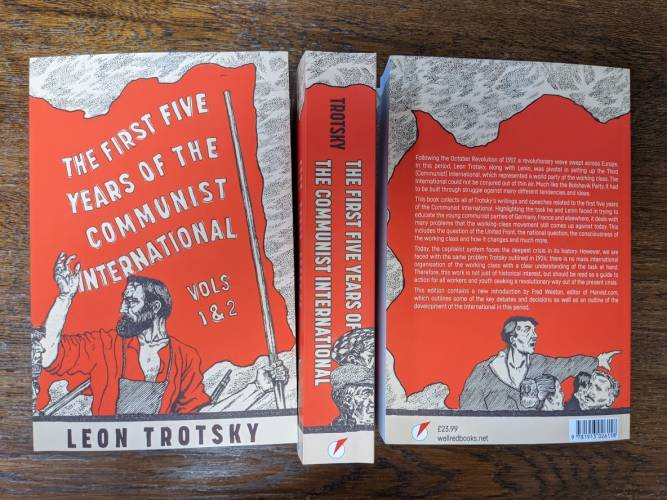 First 5 Years of the Communist International Book