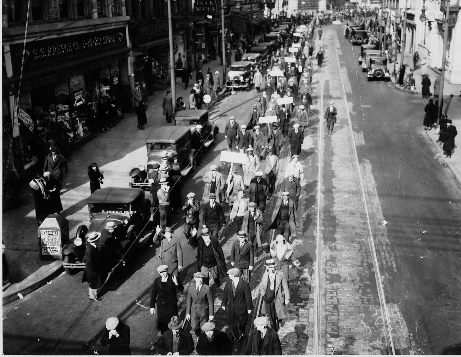 NJ Protest during the Great Depression