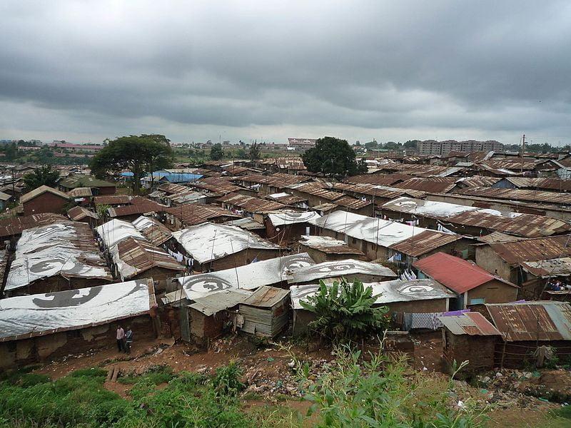 Slum in Kibera Kenya, Image: Stefan Magdalinski