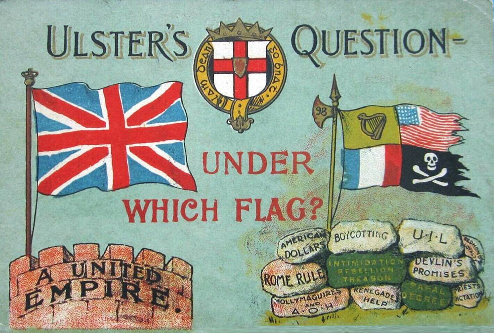"""Partition of Ireland, Ulster Question """"Under Which Flag?"""""""